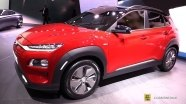Hyundai Kona Electric - экстерьер и интерьер