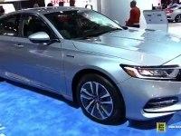 Honda Accord Hybrid - экстерьер и интерьер