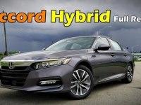 Тест-драйв Honda Accord Hybrid