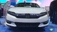 Honda Clarity Plug-In Hybrid - экстерьер и интерьер