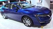 Honda Clarity Electric - экстерьер и интерьер