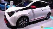 Toyota Aygo - экстерьер и интерьер