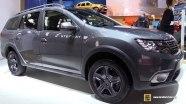 Dacia Logan MCV Stepway - экстерьер и интерьер