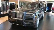 Rolls Royce Cullinan - экстерьер и интерьер