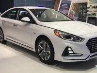 Hyundai Sonata Hybrid - экстерьер и интерьер