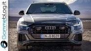 Audi Q8 - экстерьер и интерьер