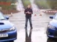 Видео тест Impreza WRX STi vs Evo X