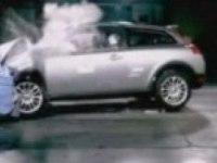 Краш-тест Volvo C30