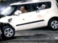 Краш-тест Kia Soul по методике Euro NCAP