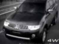 Реклама Mitsubishi Pajero Sport.