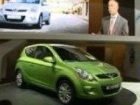 Презентация Hyundai i20 в Женеве.