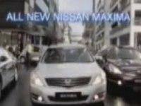Австралийский рекламный ролик Nissan Maxima