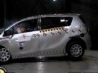 Краш-тест Toyota Verso EuroNCAP