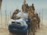 Реклама Toyota Hilux Double Cab