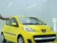 Рекламый ролик Peugeot 107