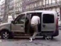 Прикольное видео с Renault Kangoo