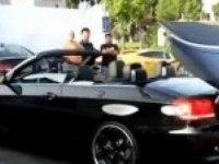 Любительское видео БМВ 3 Кабриолет