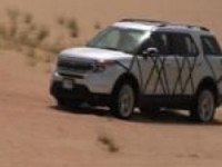Форд Эксплорер в пустыне