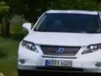 Тест-драйв Lexus RX 450h от НТВ/QUATTRORUOTE