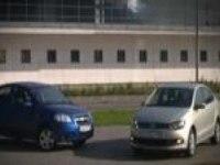 Тест-драйв VW Polo и Chevrolet Aveo от zr.ru
