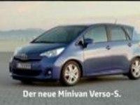Реклама Toyota Verso-S