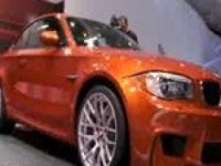 BMW 1 Series Coupe на Международном автосалоне в Детройте.