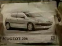 Рекламный ролик Peugeot 206