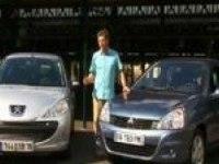 Тест-драйв Comparo Peugeot 206  VS Renault Clio Campus (Французский)