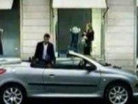 Забавная реклама Peugeot 206 СС