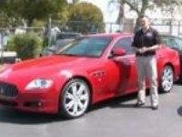 Видеообзор Maserati QUATTROPORTE