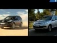 Тест-драйв Peugeot 4007 vs Citroen C-Crosser