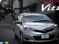 Японская реклама Toyota Yaris (Vitz)