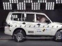 Краш-тест Mitsubishi Pajero