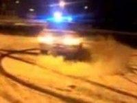 "ВАЗ-2115 ""Полицейский"" разворот"