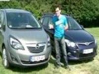 Видеообзор Opel Meriva vs. Hyundai i30 cw