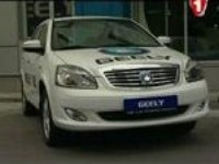 Автоподиум Geely SL