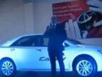 Премьера Toyota Camry v50 2012