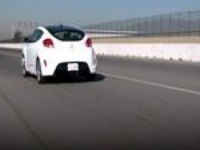 Hyundai veloster turbo на автошоу в Детройте