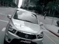 Тизер SsangYong Actyon Sports