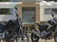 Реклама линейки мотоциклов NC700