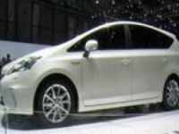 Toyota Prius+ на выставке