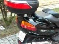 Любительское видео Suzuki Burgman 650 Executive