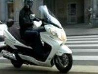 Тестдрайв Suzuki 400 Burgman