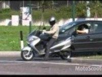 Драйв на Suzuki Burgman 200