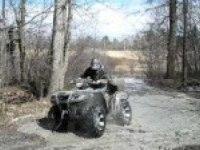 Лесные приключения Suzuki King Quad 750