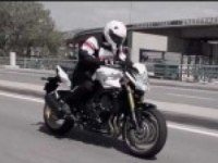 Пилотирование Yamaha FZ8