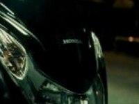Ночная прогулка на Honda PCX