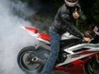 Сжигатель резины Yamaha YZF-R6