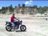 ybr 250 на песке
