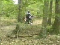 Аматорское видео драйва на YAMAHA WR125R